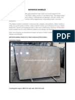 Imported Marble and Indian Marble (1)