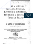 Chart and Compass (London Zetetic Society)