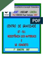 Centro de Gravidade de Figuras Planas GF