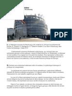 3D Camille GRENIER - Le Parlement Européen de Strasbourg - ARCHITECTURE
