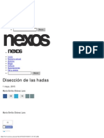 Disección de Las Hadas - María Emilia Chávez Lara