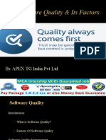 Software Quality Management and Its Factors