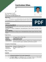 C/V Ashwinbhai Chaudhary