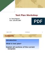 Test Plan Workshop.ppt