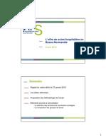 l'offre de soins hospitalière en Basse-Normandie - ARS - 02/04/2015