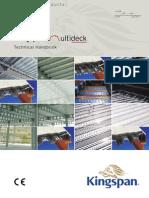 UK SP MD Kingspan Multideck Technical Handbook