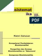 Sistematika &Evolusi (-Konsep Biosistematika)