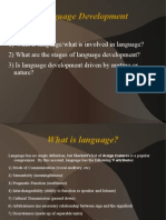 Language for Developmental