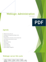 Weblogic Administration Day2