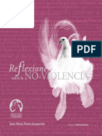 Reflexiones Sobre La Noviolencia (Jacquemin)