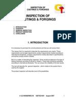 Inspection of Castings & Forgings