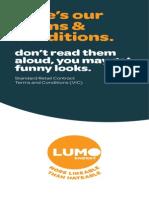 Lumo Energy - Contract Tariff