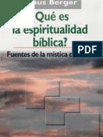 Espiritualidad biblica