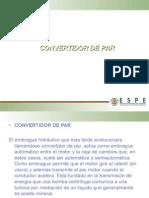 Convertidor Funciones, Mantenimiento y Fallas
