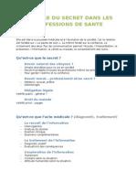 Histoire du secret dans les professions de santé - PROUST.docx