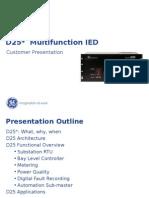 D25 Customer Presentation Updated