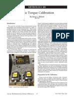 Procedimento Calibração Torquimetro