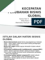 Kecepatan Perubahan Bisnis Global