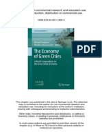 Green Economy for Sustainable Development Book Chapter by Asif Kabani and Maliha a. Kabani