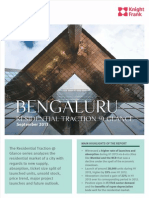 Bangalore Residential Traction@Glance Sept'13