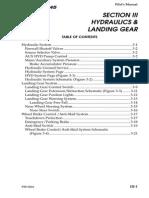 Bombardier Learjet-Hydraulics and Landing Gear