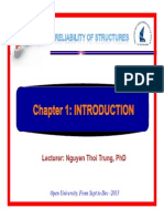 Reliability of Structures Chapter 1