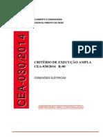 AMPLA - Critérios de Execução