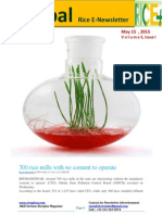 14th May,2015 Daily Global Rice E-Newsletter by Riceplus Magazine