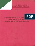 Istruzione per il tiro a salve con le armi cal. 7,62 mm NATO (5951) 1970