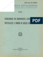 Istruzione sui dispositivi antincendio installati a bordo di mezzi corazzati (5333) 1958