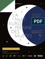Programme Nuit Musées Rhone Alpes 2015