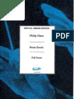 Philip Glass - Brass Sextet