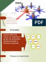 Clusters y Join Venture