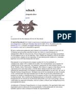 Test Rorschach, Arbol, Hombre Bajo La Lluvia (Test Psicologico Laboral)
