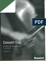 Edgar Meyer - Concert Duo Movement 1