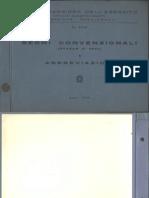 Segni convenzionali e abbreviazioni (5348) 1959