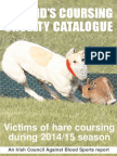 Ireland's Hare Coursing Cruelty Catalogue 2015
