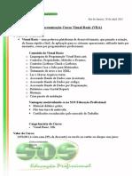 Proposta SOS Curso Visual Basic