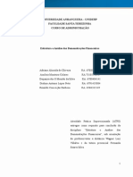 ATPS_ Estrutura e Analise Das Demonstrações Finenceiras