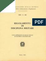 Regolamento di Disciplina Militare (SMD-G-002) 1986