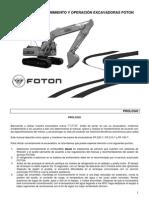Manual Mntto. Excavadora Foton.pdf