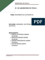 Informe de Laboratorio Fisica I-05