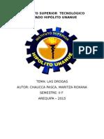 Monografia Las Drogas
