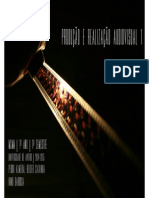Realização Audiovisual- Slides e conceitos 1