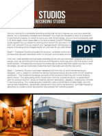 Container Studio Brochure