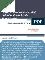metlit sarah _ rokok dan stroke.ppt