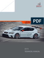 Technical Manual Leon Cup Racer 2015