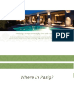 Ametta Place Pasig Ayala Land Townhouse For Sale