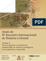 Vol. 2 - Terra e Império - Anais Do IV Eihc 2012