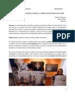 """Reseña de la Muestra """"Inundación y después"""", en el Museo de Arte y Memoria de La Plata"""